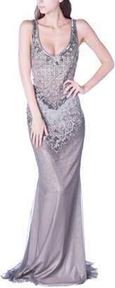 Badgley Mischka Silver Jewel Couture