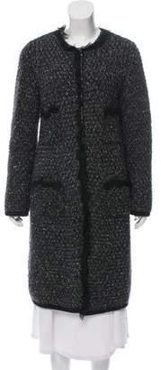 Dolce & Gabbana Woven Wool Coat