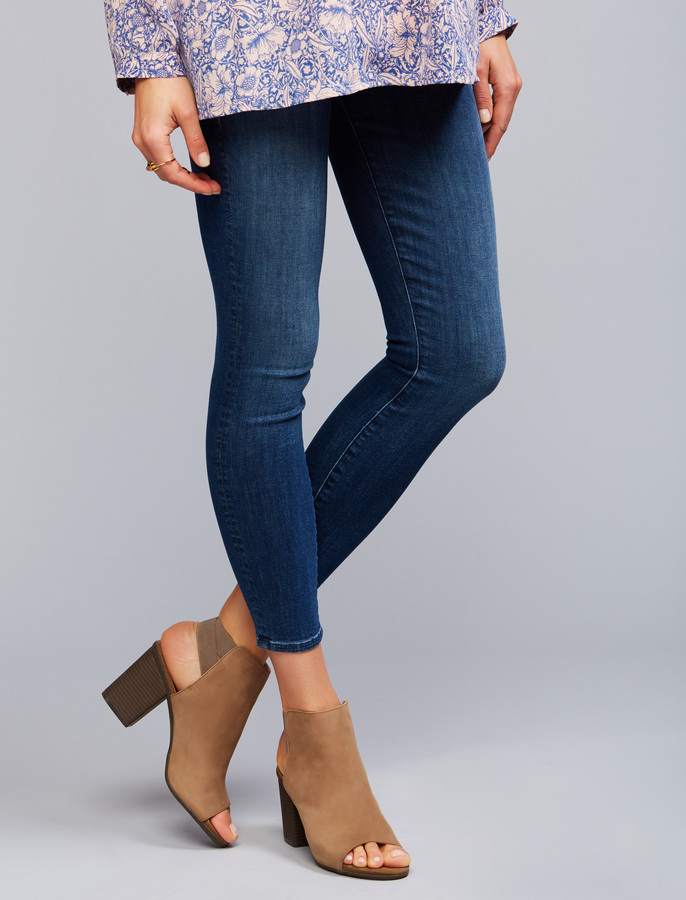 A Pea In The PodMother Secret Fit Belly Looker Ankle Maternity Jeans