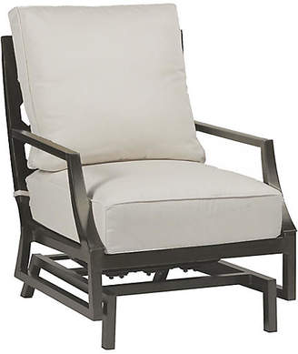 Lattice Spring Club Chair - Dove Sunbrella - SUMMER CLASSICS INC