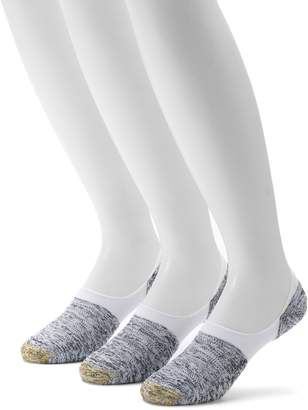Gold Toe Goldtoe Men's GOLDTOE 3-pack Marl Tab Sta-Cool No-Show Socks