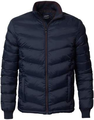 Puffa PETROL INDUSTRIES Mid-Season Short Padded Jacket with High Neck