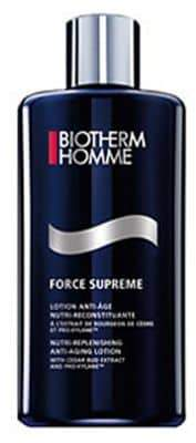 Biotherm Force Supreme Lotion Nutrireplenishing Antiaging Lotion With Cedar Bud Extract And Proxylane