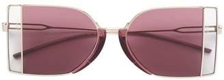 Calvin Klein metal frame sunglasses