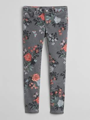 Gap Super Skinny Jeans in Floral Print