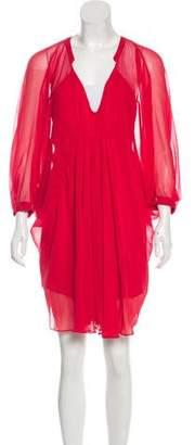 Diane von Furstenberg Fluerette Silk Mini Dress