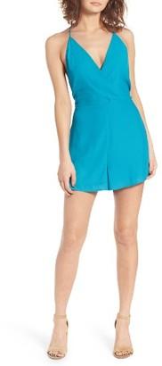 Women's Lush Surplice Romper $45 thestylecure.com