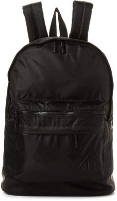 Steve Madden Black Laptop Nylon Backpack