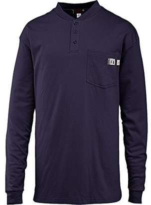 Wolverine Men's Flame Resistant Long Sleeve Henley T-shirt