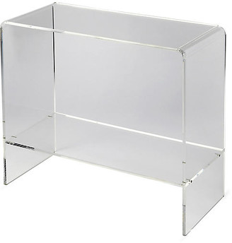 One Kings Lane Maben Acrylic Console - Clear