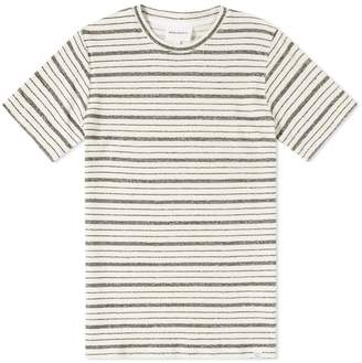 Norse Projects Niels Texture Stripe Tee