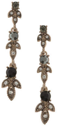 Marchesa Teardrop Linear Earrings