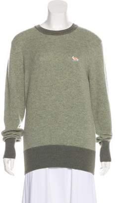 MAISON KITSUNÉ Long Sleeve Wool Sweater