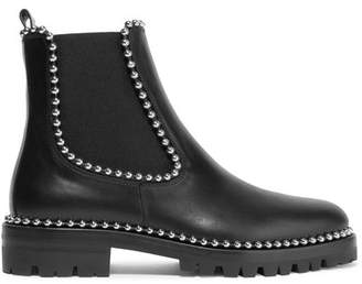 Alexander Wang Spencer Studded Leather Chelsea Boots - Black
