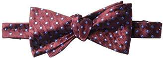 Buttoned Down Men's Classic Silk Self-Tie Bow Tie