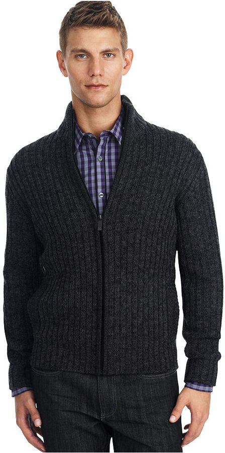 Kenneth Cole Reaction Sweater, Marled Cardigan