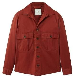 Mango man MANGO MAN Pocketed cotton jacket