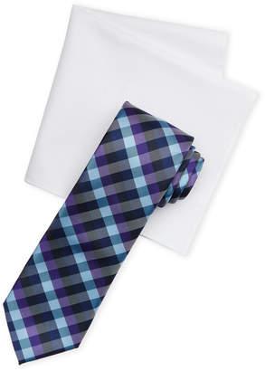 Nautica Argand Tie & Handkerchief Set