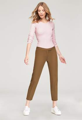 Milly Stretch Crepe Low Rise Cigarette