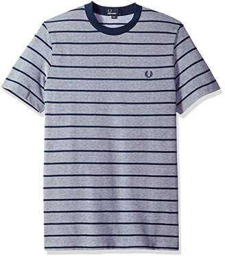 Fred Perry Men's Oxford Stripe Pique T-Shirt