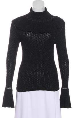 Co Metallic Turtleneck Sweater w/ Tags