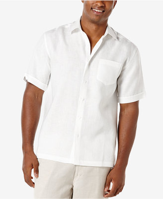 Cubavera Men's 100% Linen Short-Sleeve Shirt $85 thestylecure.com