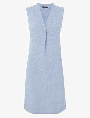M&S CollectionMarks and Spencer Linen Rich Shift Dress