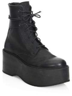 Ld Tuttle The Plunge Leather Mid-Calf Platform Boots