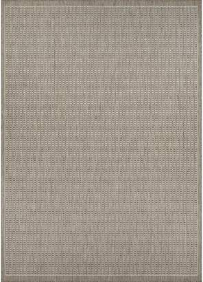 Andover Mills Zachary Champagne/Taupe Indoor/Outdoor Area Rug