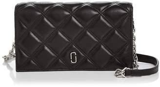 Marc Jacobs Double J Matelasse Leather Chain Wallet