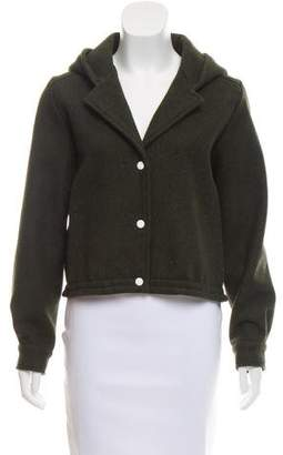 Kitsune Hooded Wool Jacket