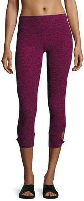 Beyond Yoga Twist and Shout Capri Performance Leggings $95 thestylecure.com