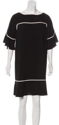 See by Chloe Silk Short Sleeve Dress