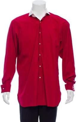 Ralph Lauren Purple Label French Cuff Button-Up Shirt
