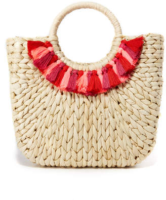 Hat Attack Small Round Handle Tote $105 thestylecure.com