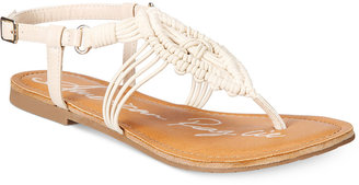 American Rag Palima Embroidered Flat Sandals, Only at Macy's $39.50 thestylecure.com