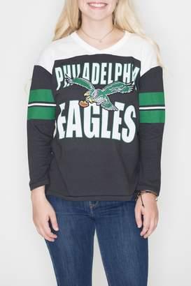 Junk Food Clothing Philadelphia Eagles Raglan