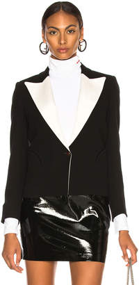 Blaze Milano Resolute Contrast Lapel Spencer Blazer