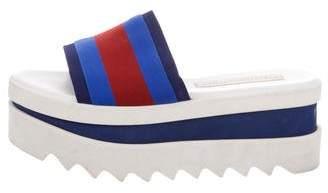 Stella McCartney Platform Slide Sandals