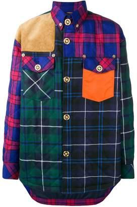 Versace patchwork shirt