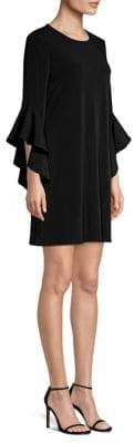 Laundry by Shelli Segal Bell Sleeve Jersey Cocktail Dress