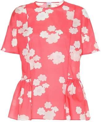 Marni Floral cotton top