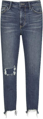 Sam Edelman Mary Jane High Rise Straight Ankle Jean
