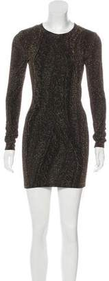 Torn By Ronny Kobo Mini Knit Dress