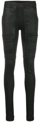 Rick Owens skinny biker trousers