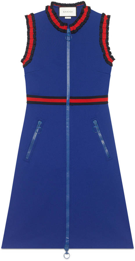 Gucci Sleeveless dress with Web