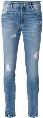 HTC Los Angeles distressed skinny jeans