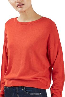 TOPSHOP Crewneck Sweater $48 thestylecure.com