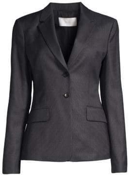 BOSS Jabahana Tonal Minidessin 2B Virgin Wool Suiting Jacket