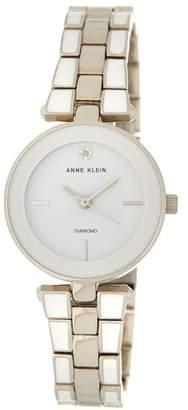 Anne Klein Women's Diamond Mother of Pearl Bracelet - 0.05 ctw
